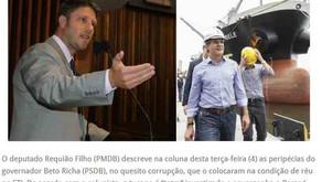 Contra a corrupção e à favor do Paraná