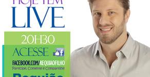 Assista como foi o bate-papo ao vivo com o Deputado Requião Filho, nesta segunda-feira, 26 de março