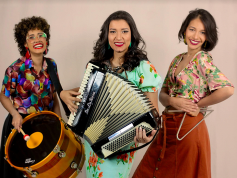 """Trio Beijo de Moça lança o CD """"Chega Pra Cá"""""""