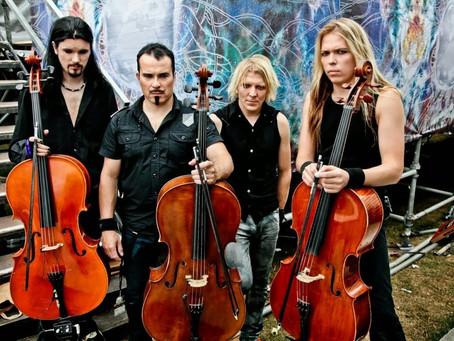 Apocalyptica comemora 20 anos de Plays Metallica By Four Cellos com turnê pelo Brasil