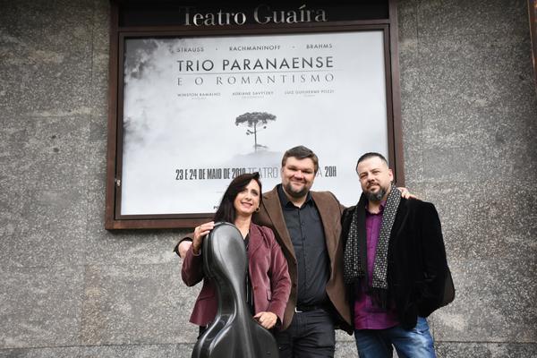 Adriane Savytzk, Luiz Guilherme Pozzi e Winston Ramalho