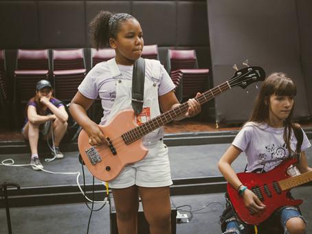 Inscrições para o primeiro Camp Lab do Girls Rock Camp Curitiba já estão abertas