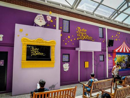 Teatro de Bonecos Dr. Botica é atração da criançada, de quinta a domingo.