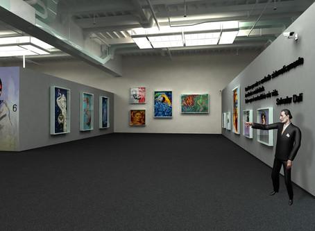 Festival de obras de arte online reúne 60 artistas plásticos