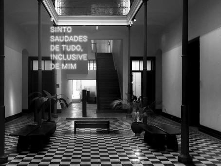 """""""Fronteira sem Limites"""" apresenta arte contemporânea paranaense na Sala Adalice Araújo"""