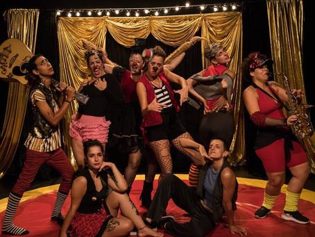 Mulheres apresentam sua criações circenses no 1º Circa Festivália
