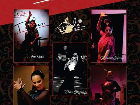 Sábado tem dança flamenca no Espaço Up Live, em Curitiba