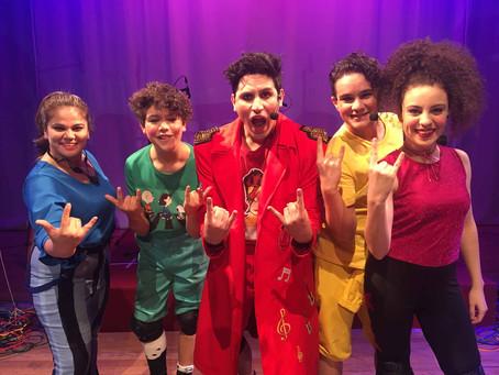 Rock para Pequenos apresenta rock´n´roll para crianças até 03 de junho