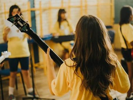 Apresentação das participantes Girls Rock Camp Curitiba 2019 será no próximo sábado (26)