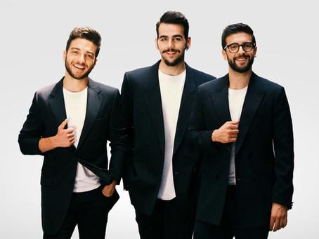 Show com o trio italiano IL VOLO é neste sábado (19), no Guairão