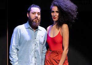 Diogo Burka e Iria Braga