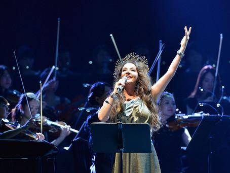 Dezembro começa com Sarah Brightman in Concert, no palco do Teatro Guaíra