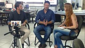 Em Cascavel, Requião Filho participa de bate-papo ao vivo no portal O Paraná e Hoje News