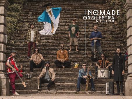 Banda Nômade Orquestra confirma show em novembro na capital paranaense
