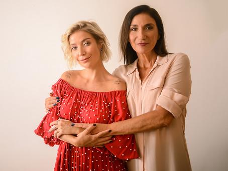 Zizi e Luiza Possi se apresentam juntas no Guairão, em dezembro