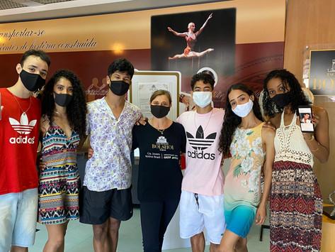 Oito bailarinos são contratados para Cia. Jovem Bolshoi Brasil