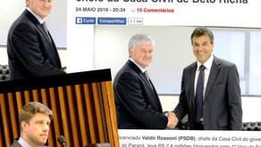 Requião Filho sugere afastamento de Chefe da Casa Civil, Valdir Rossoni