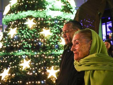 As tradições do Natal para o Grupo Folclórico Raízes de Bolívia
