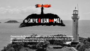 Requião Filho denuncia construção de rodovia que coloca em risco Ilha do Mel.