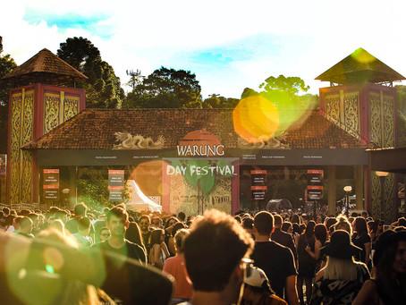 Warung Day Festival celebra música eletrônica em Curitiba, no dia 13