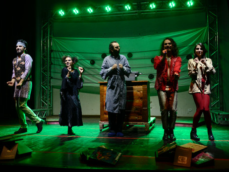 Espetáculo musical chega a Curitiba para resgatar a criança interior