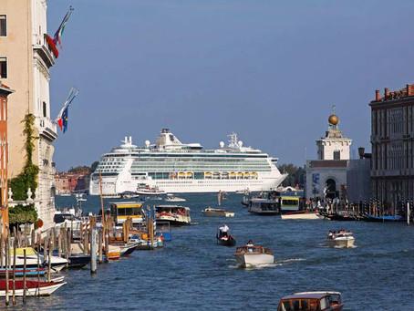 A retomada dos Navios de Cruzeira na Itália