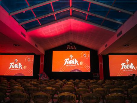Topia chega a terceira edição em 2020. Evento de artes visuais digitais promete movimentar Curitiba