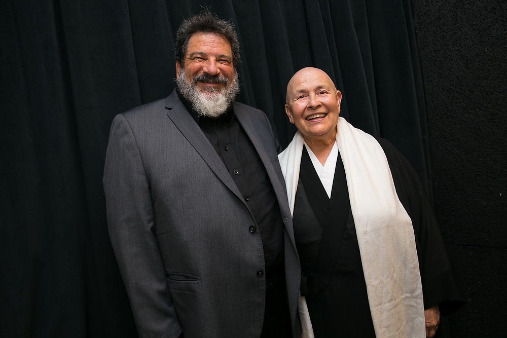 Mário Sergio Cortella e Monja Coen