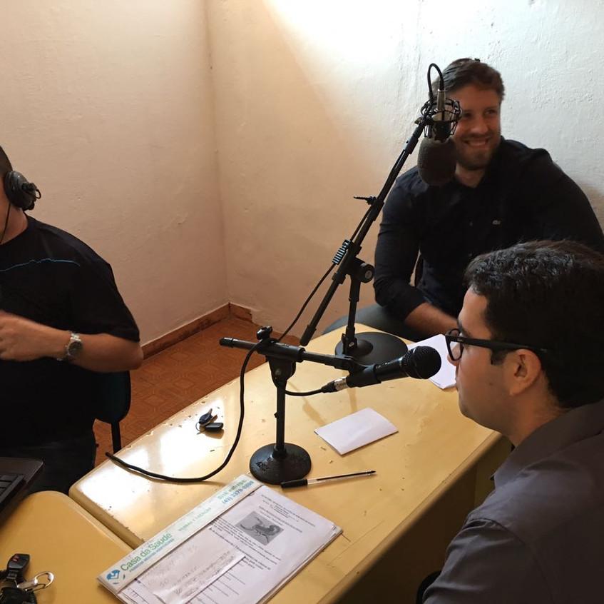 Radio comunitária Vale do Laranjinha em Ribeirao do Pinhal