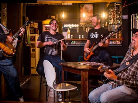 Banda que homenageia os Beatles em Santa Catarina tem show de lançamento nesse fim de semana