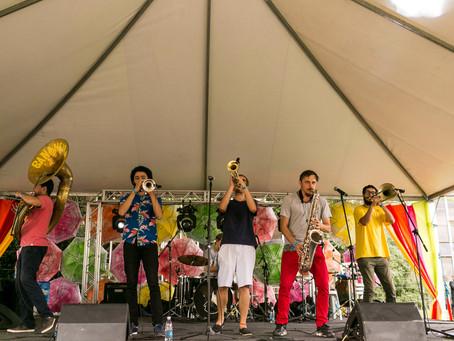 Bananeira Brass Band toca no Largo da Ordem, neste domingo (05)