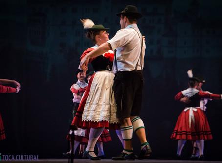 A alegria da cultura germânica nas danças do Original Einigkeit Tanzgruppe