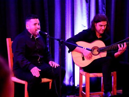 Perla Flamenca traz espanhol David Garcia para apresentação no dia 9
