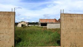 Requião Filho visita obra de Escola abandonada em Campina Grande do Sul.