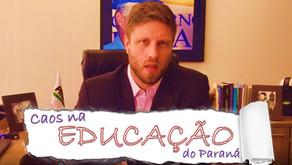 Requião Filho comenta o caos na Educação do Paraná