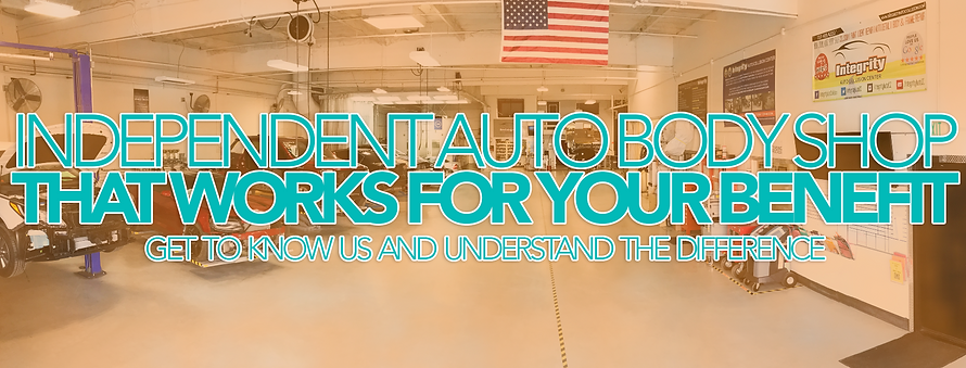 Independent Auto Body Shop in Fairfield.