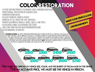 Color restoration