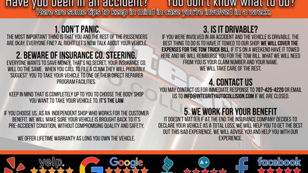 You don't know what to do in accident?