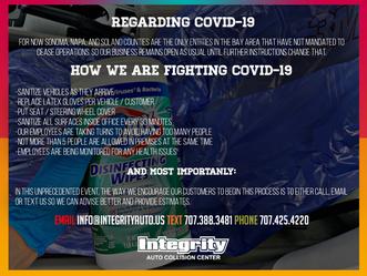 Regarding Coronavirus (COVID-19)