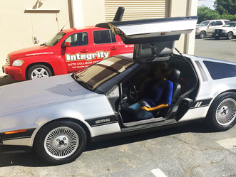 The DeLorean is going back to the future and into production.