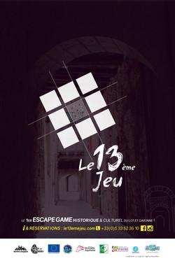 Escape game Le 13ème Jeu - Monflan