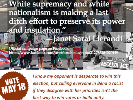 Calling A Community Racist Isn't a Good Campaign Strategy