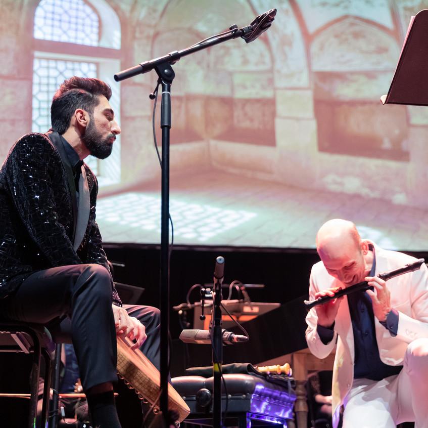 Farid Sheek en Eric Boschraaf