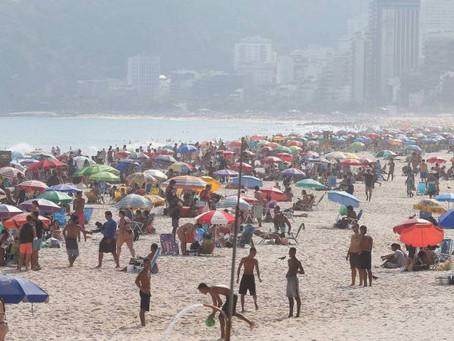 Temperatura permanece elevada e tem máxima de 40°C no Rio - ONDA CERTA FM