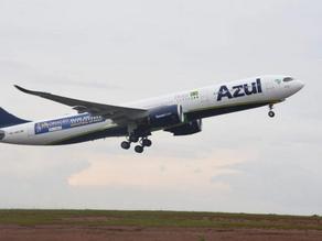 Avião faz pouso de emergência após piloto relatar fumaça a bordo