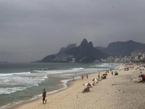 Frente fria afasta cariocas das praias neste domingo - SUPER TOP FM 89.3