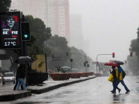 Tempo no Rio muda com passagem de frente fria e rajadas de vento forte - ONDA CERTA FM