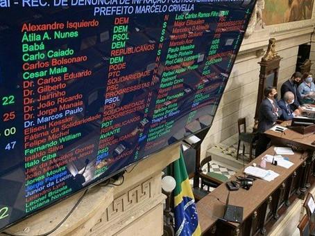 Impeachment: vitória de Crivella por dois votos tem ajuda de nove adversários - ONDA CERTA FM