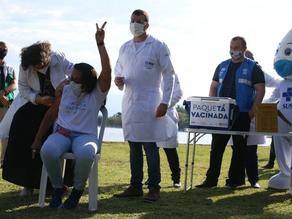 Pesquisa aponta que vacinação em massa em Paquetá alcançou bons resultados - SUPER TOP FM 89.3