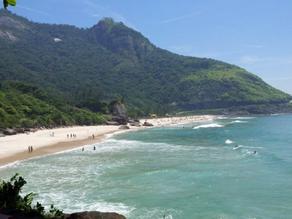 Festa de swing a céu aberto é interrompida por fiscalização na Praia da Reserva - SUPER TOP FM 89.9